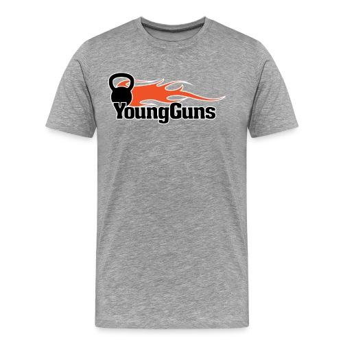YoungGuns T-shirt storlek S-L - Premium-T-shirt herr