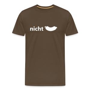 Nicht wurst  - Männer Premium T-Shirt