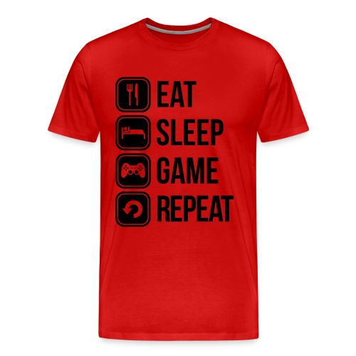 Gamers T-Shirt 1.0 - Men's Premium T-Shirt