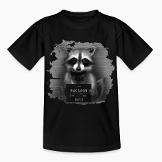Raccoon Mugshot Shirts