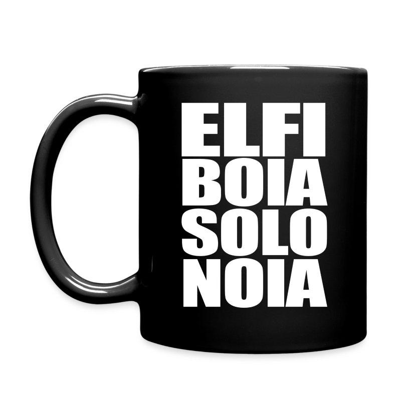 Elfi Boia Solo Noia - Tazza - Tazza monocolore