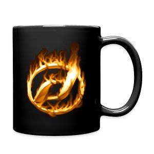 Heiße Tasse mit Daelim Logo (und Forum-URL vorne) - Tasse einfarbig