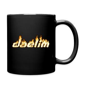 Heiße Tasse mit Daelim Schriftzug (und Forum-URL vorne) - Tasse einfarbig
