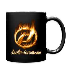 Heiße Tasse mit Daelim Logo (und Forum-URL) - Tasse einfarbig