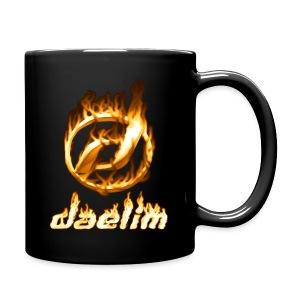 Heiße Tasse mit Daelim Logo und Schriftzug - Tasse einfarbig