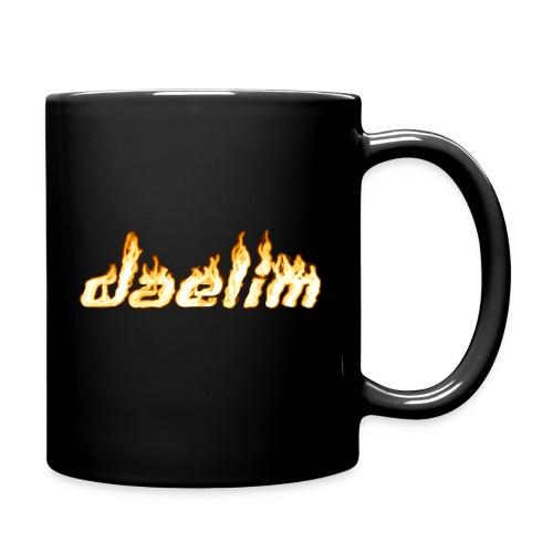 Heiße Tasse mit Daelim Schriftzug - Tasse einfarbig