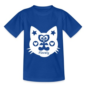 Flovely Cat - Kinder T-Shirt