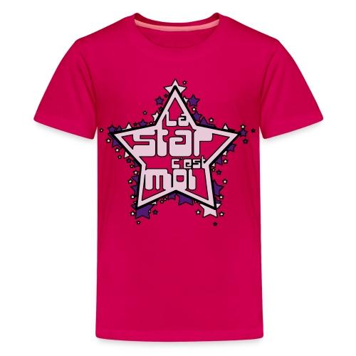 La star c'est Moi - T-shirt Premium Ado