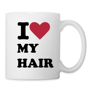 I Love My Hair Mug - Mug