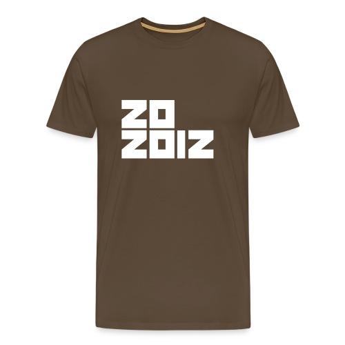 Z0 2012 - Mannen Premium T-shirt