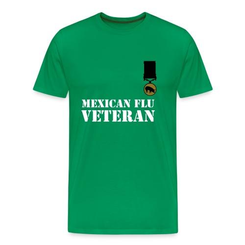 Flu Veteran - Mannen Premium T-shirt