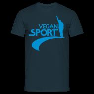 T-Shirts ~ Männer T-Shirt ~ Mens 'Vegan Sport'