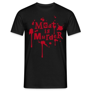 Mens Shirt 'Meat is Murder' - Männer T-Shirt