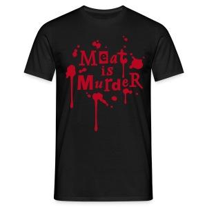 Mens Shirt 'Meat is Murder' - Männer T-Shirt