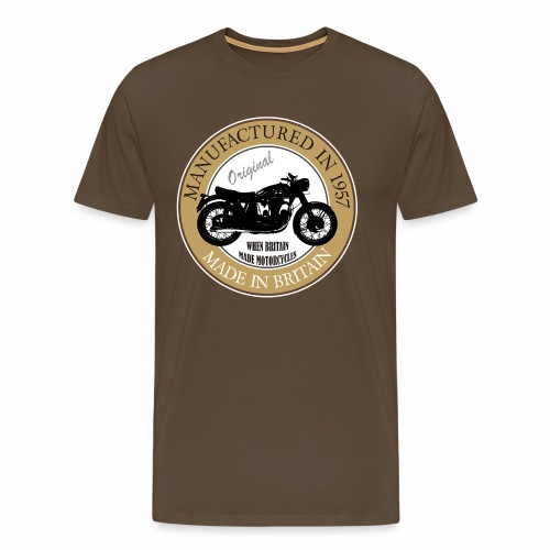 Made in 1957 Motorbike - Men's Premium T-Shirt
