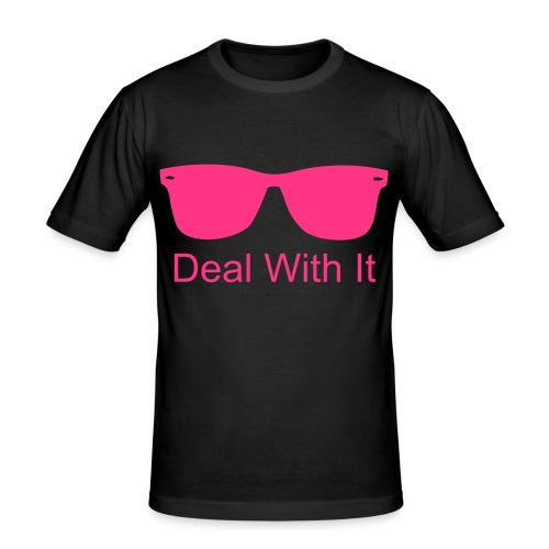 Deal with it - Herre Slim Fit T-Shirt