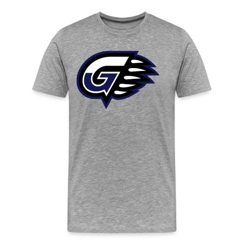 T-SHIRT DOP G'S Grey - T-shirt Premium Homme