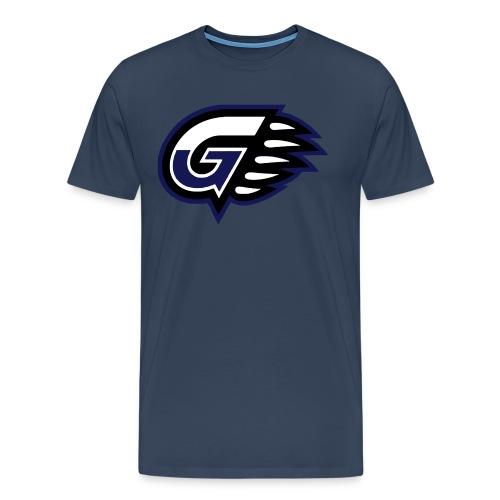 T-SHIRT DOP G'S Navy - T-shirt Premium Homme