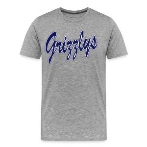 T-SHIRT DOP LETTER Grey - T-shirt Premium Homme