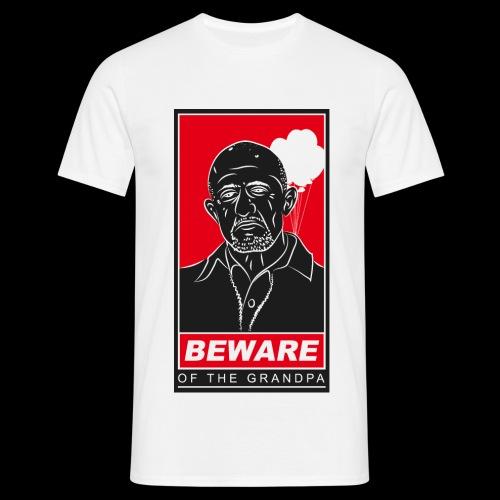 Grandpa Mike white - Männer T-Shirt