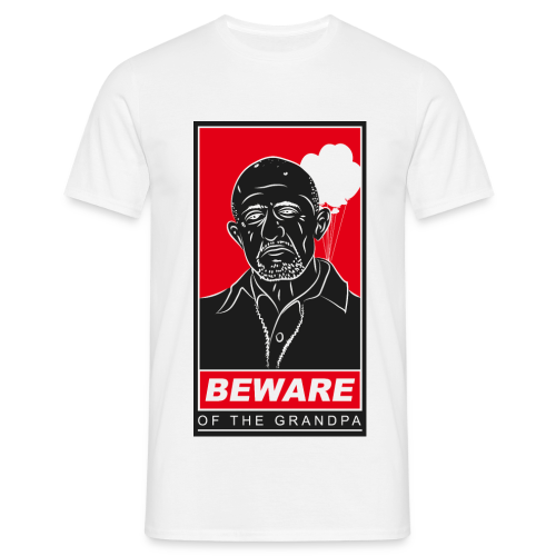 Grandpa Mike white - Männer T-Shirt