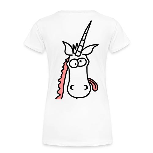 Me Crazy? NO! - T-shirt (Dame) - Dame premium T-shirt