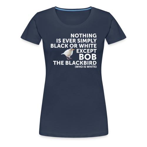 Black Or White - Women's Premium T-Shirt
