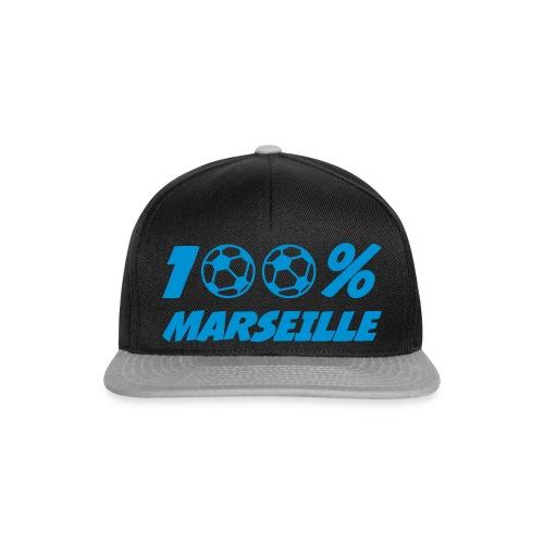 casquette 100 % Marseille - Casquette snapback