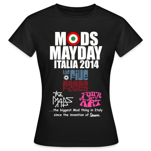 Mods Mayday Italia 2014 - Women's T-Shirt