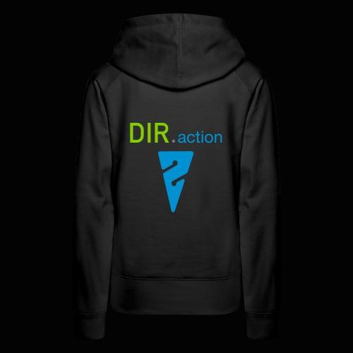 DIR.action Frauen-Kapuzensweater in 9 Farben - Frauen Premium Hoodie