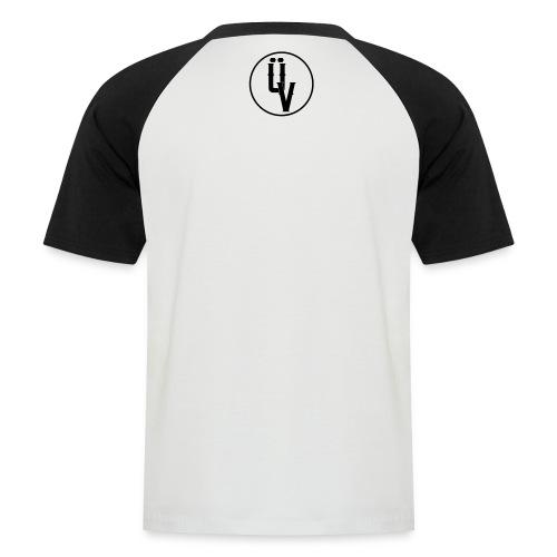 ÜV Baseball Short Schwarze Schrift - Männer Baseball-T-Shirt