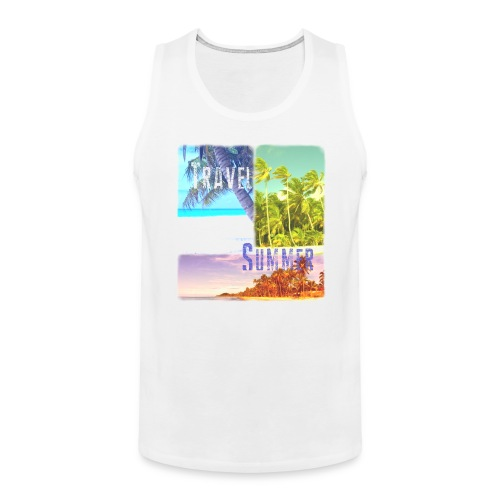 Travel Summer - Men's Premium Tank Top
