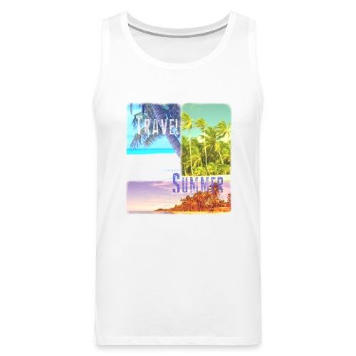 Travel Summer - Men's Premium Tank Top