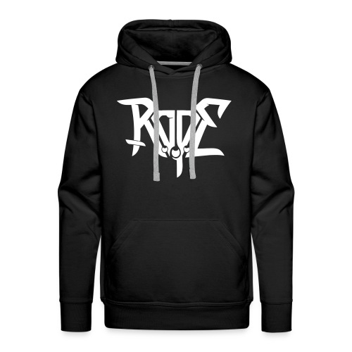 ROPE hoody white for demons - Men's Premium Hoodie