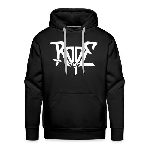 ROPE hoody white for demons - Men's Premium Hoodie
