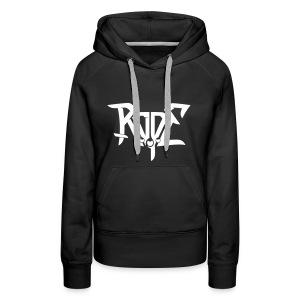 ROPE hoody white for babes - Women's Premium Hoodie