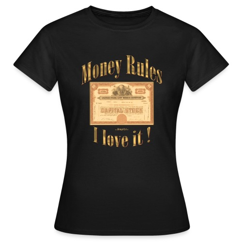 Money Rules | Exclusives Lady-Shirt by Dragefyr - Frauen T-Shirt