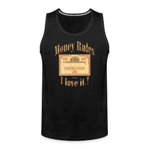Money Rules | Exclusives Tank Topt by Dragefyr - Männer Premium Tank Top