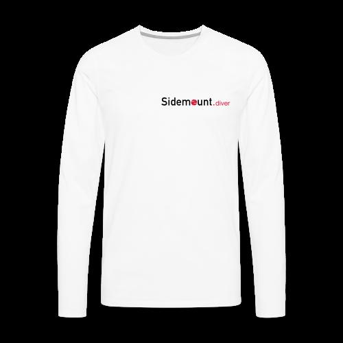 Sidemount.diver - Männer Premium Langarmshirt