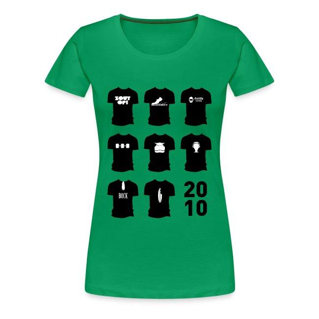 Shirt van 2010