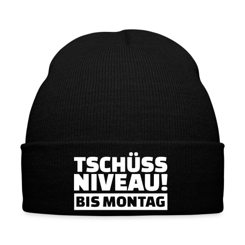 BIS MONTAG - Wintermütze