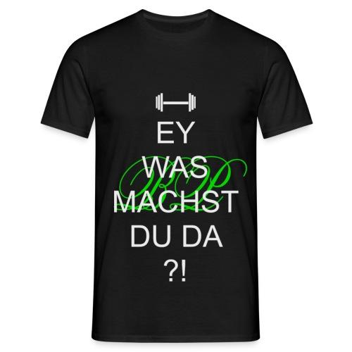 Grün-Schwarz - Männer T-Shirt