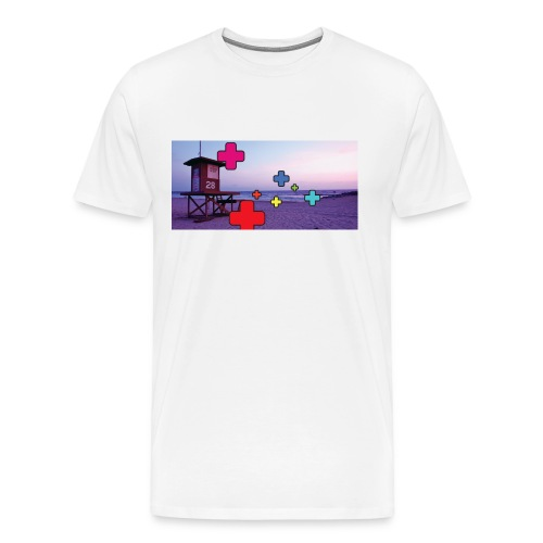 Lifeguard's beach - T-shirt Premium Homme