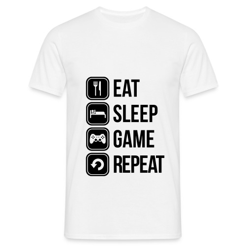 Gamer T-Shirt - Mannen T-shirt