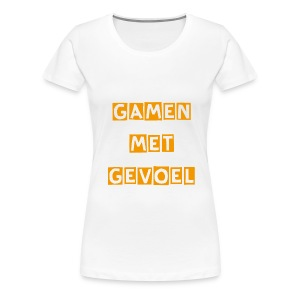 GamenMetGevoel-#1-Vrouwen - Vrouwen Premium T-shirt