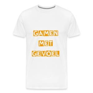 GamenMetGevoel-#1-Mannen - Mannen Premium T-shirt