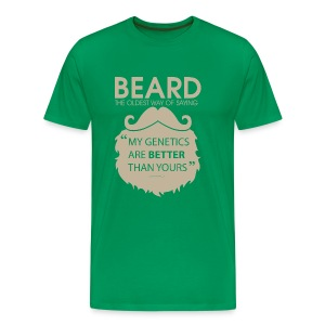 beard II - Men's Premium T-Shirt