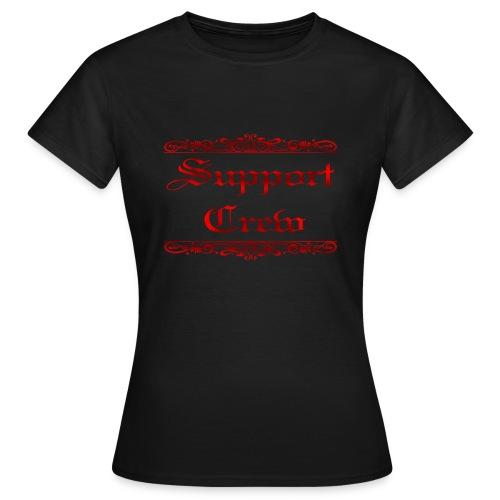Support Crew, Red by xxx.Dragefyr.de - Frauen T-Shirt