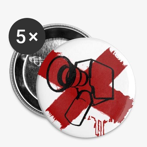 Fuck Filmmaschine - Buttons mittel 32 mm