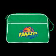 Sacs et sacs à dos ~ Sac Retro ~ Sac Rétro BagBase  Vert